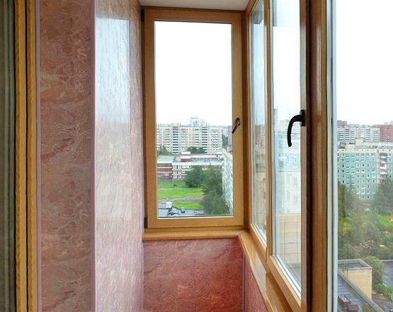 Отделка балконов и лоджий панелями пвх - новые окошки.